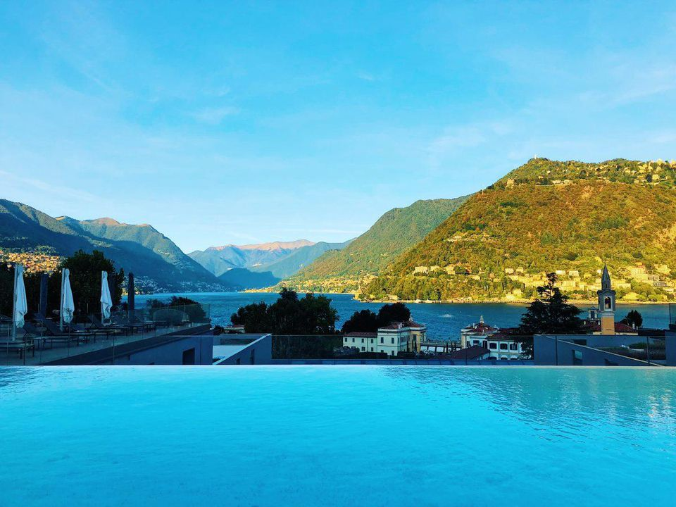 Get The Best Views Of Lake Como From This Hotel's Infinity Pool