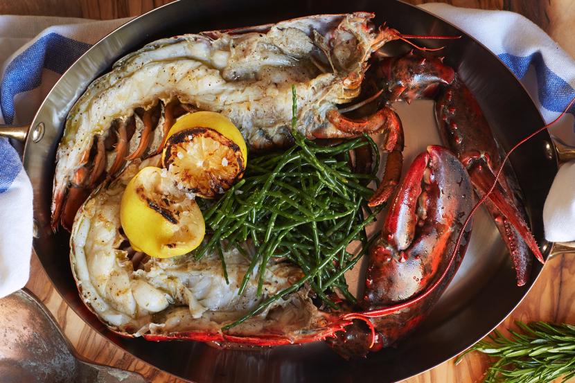 Taverna Greek Kitchen Laid-back Greek restaurant in a tourist hotspot